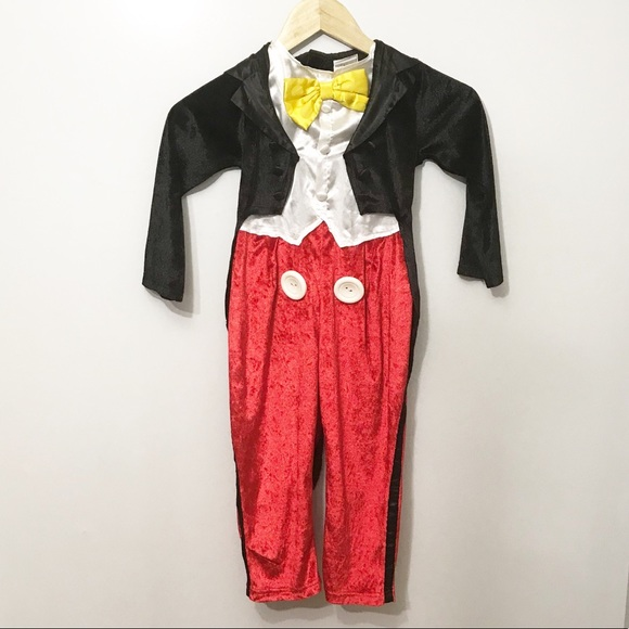 Disney Mickey Mouse Suit Tuxedo Halloween Cosplay Costume Outfit Custom Made